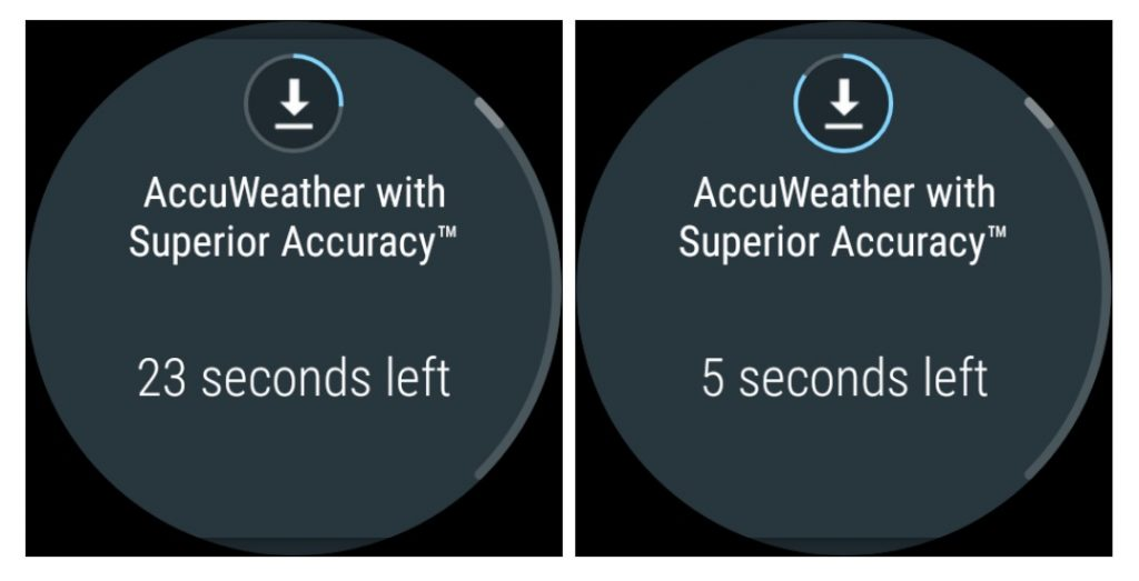 Descargas en Android Wear 2.6