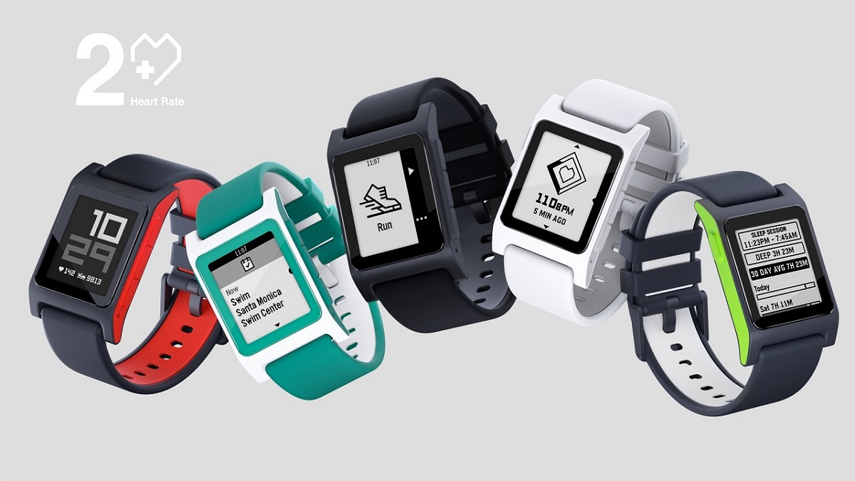 Smartwatch y reloj de fitness Pebble 2