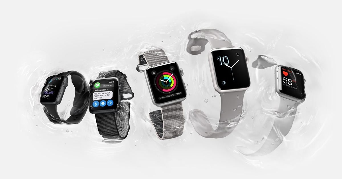 Colección de smartwatches Apple Watch Series 3