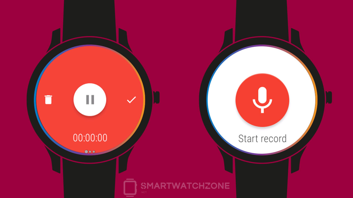 Wear Audio Recorder - Grabador de audio para Android Wear