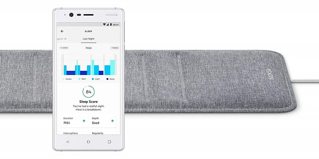 Withings Sleep, monitor de sueño avanzado