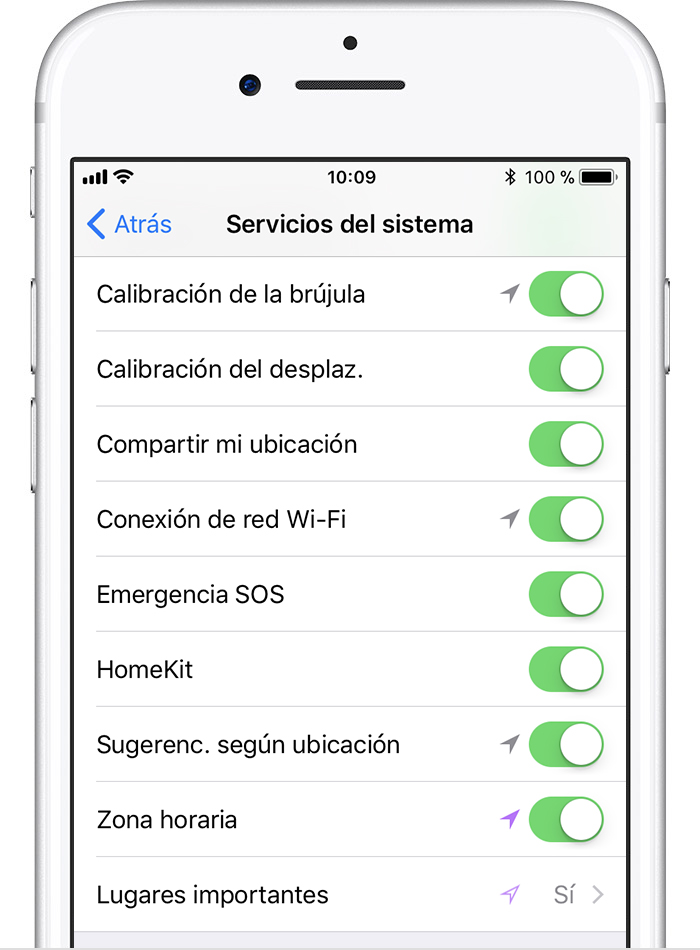 Calibración del Apple Watch a través del iPhone