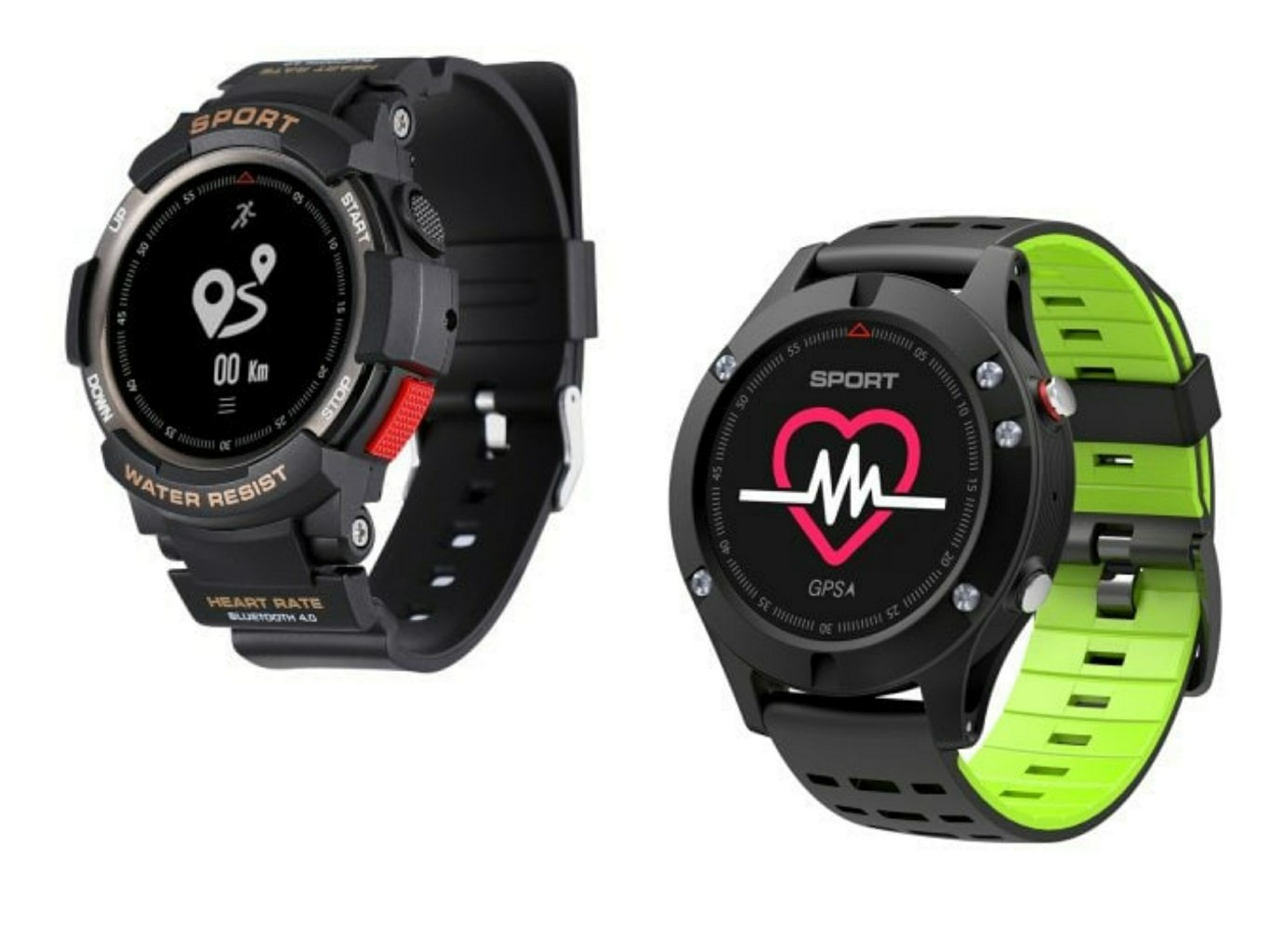 Smartwatches NO.1 F6 y F5