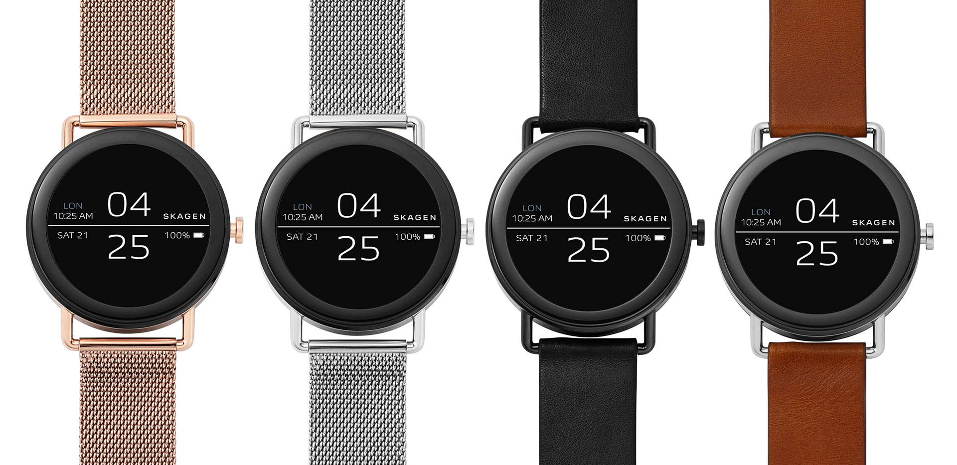 Skagen Falster con Android Wear 2.0