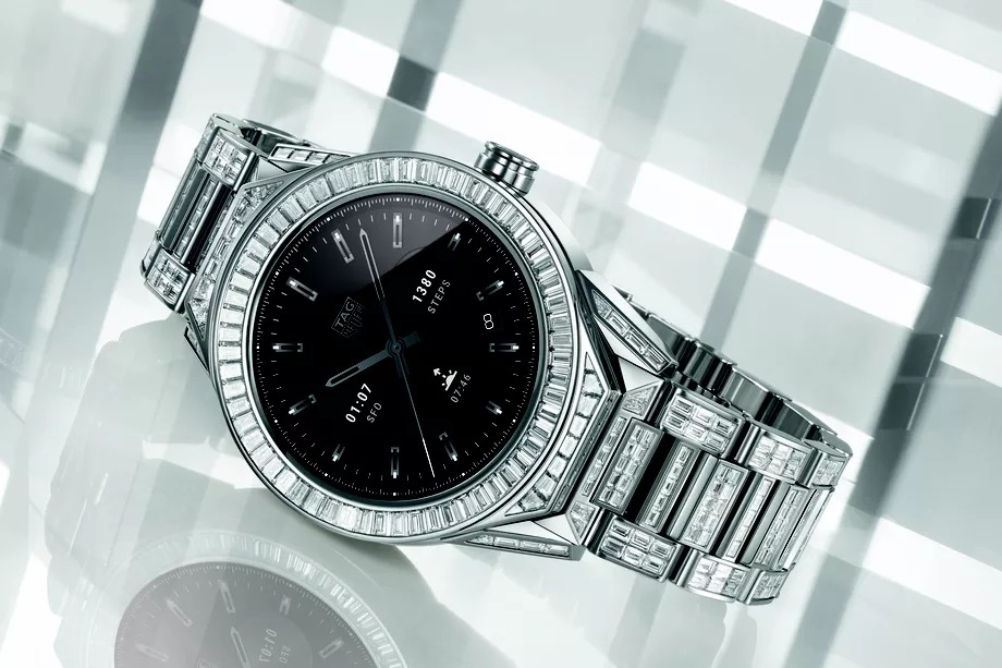 TAG Heuer Connected Modular 45 Full Diamond, el smartwatch más caro del mundo
