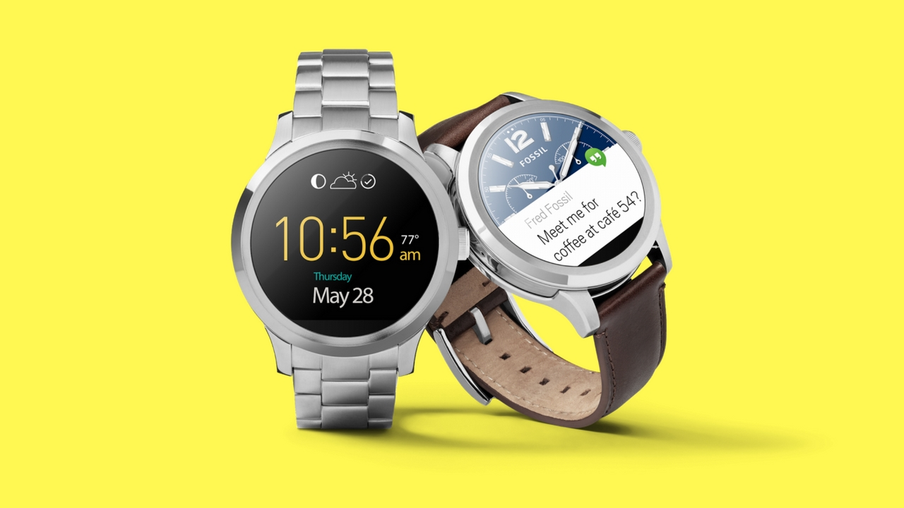 Smartwatch Fossil Q Founder con Wear OS 2.0