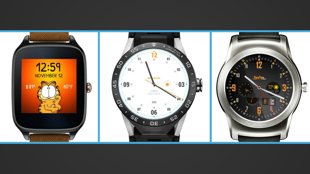 Facer para Android Wear 2.0