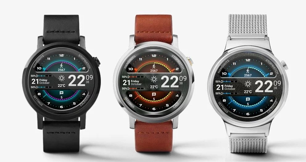 Master Watch Face para Android Wear