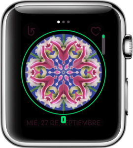 Personalizando la esfera del reloj en el Apple Watch