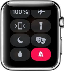 Silenciando el Apple Watch