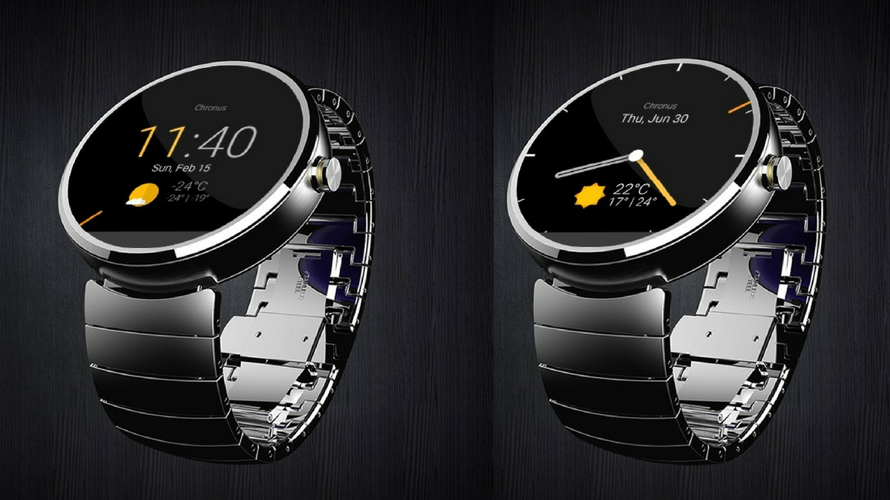 Watch face Chronus para Android Wear 2.0