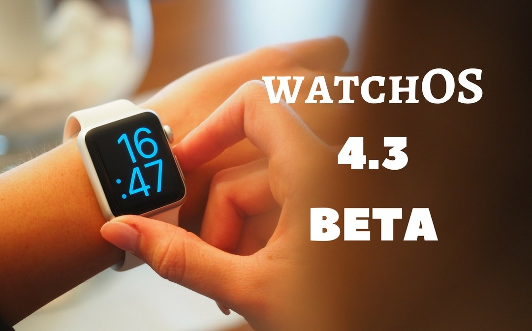 watchOS 4.3 Beta