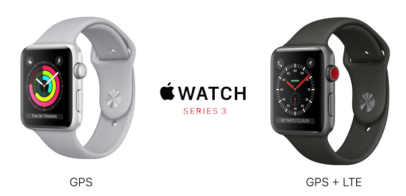 Apple Watch Series 3 con GPS y LTE