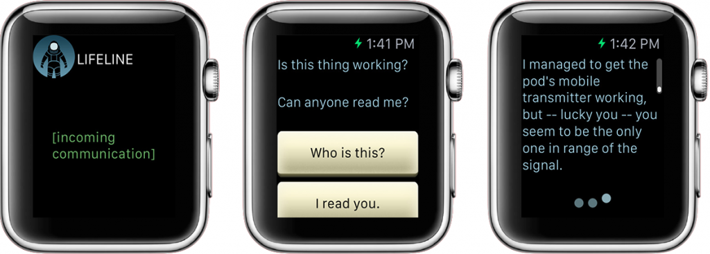 Lifeline para el Apple Watch