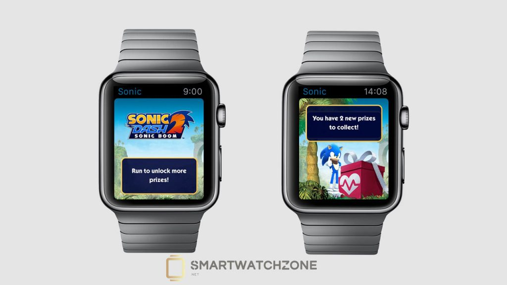 Sonic Dash 2 para el Apple Watch