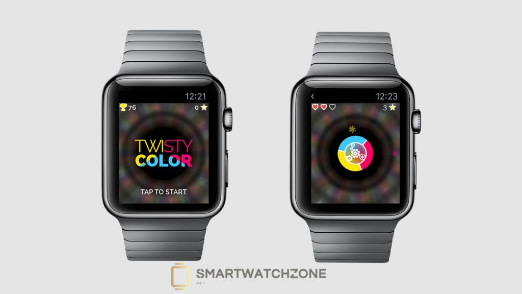 Twisty Color para el Apple Watch