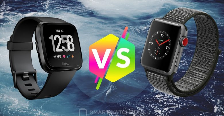 Análisis comparativo entre el Fitbit Versa y el Apple Watch Series 3