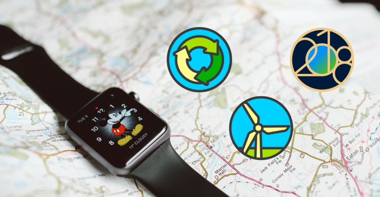 Reto del Día de la Tierra en el Apple Watch