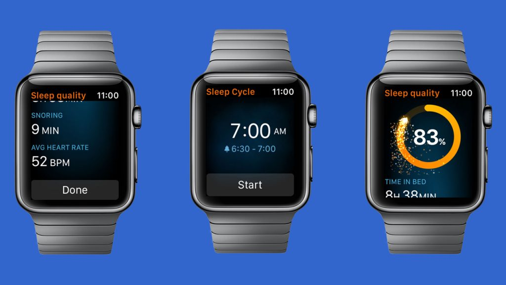 Sleep Cycle para el Apple Watch