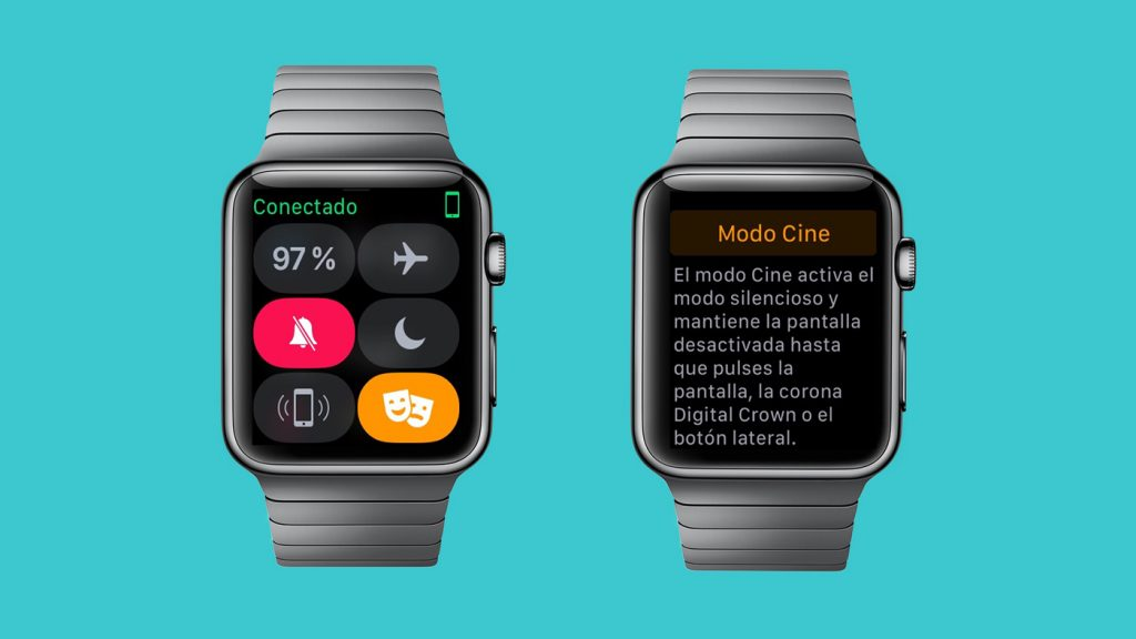 Modo Cine / Teatro en el Apple Watch