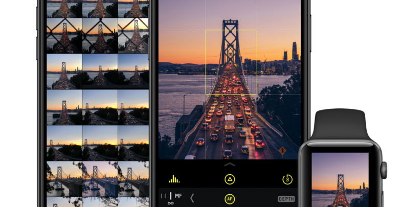Halide Camera para iOS y watchOS