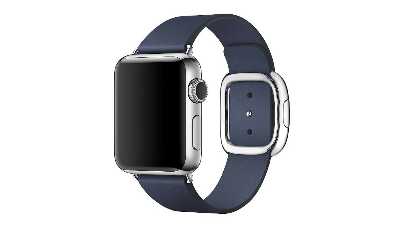 Apple Watch con correa con hebilla moderna (Modern Buckle)