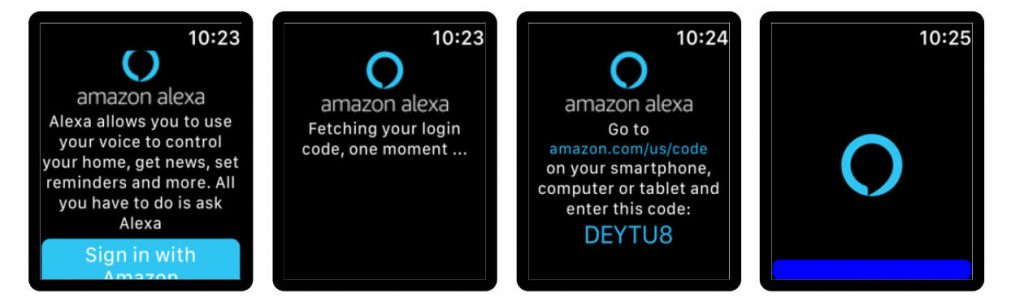 Voice in a Can agrega soporte para Amazon Alexa en el Apple Watch