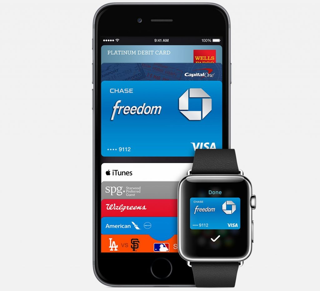 Apple Pay en el iPhone y Apple Watch