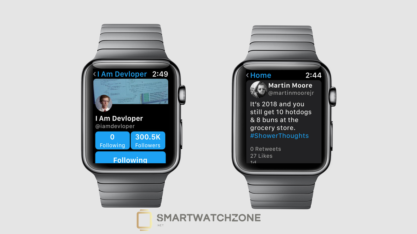 Chirp para el Apple Watch, una app que agrega Twitter al smartwatch