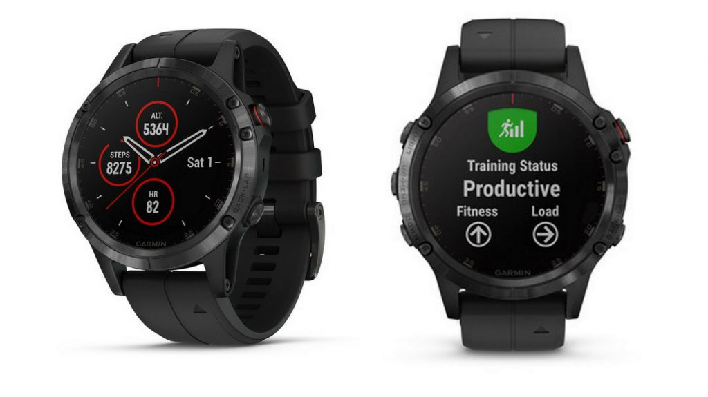Garmin Fenix 5 Plus negro