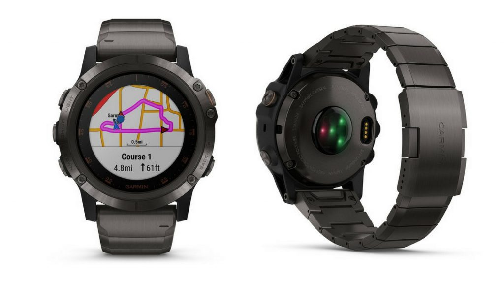 Garmin Fenix 5X Plus gris carbón