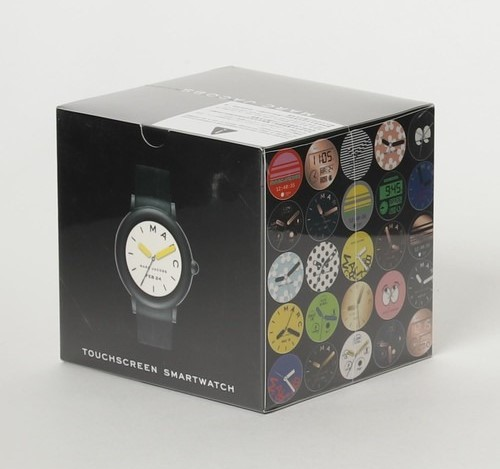 Caja del smartwatch Marc Jacobs Riley Touchscreen