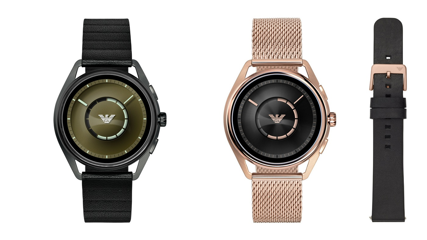 Nuevos smartwatches Emporio Armani Connected