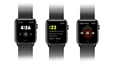 Nike Training Club para el Apple Watch