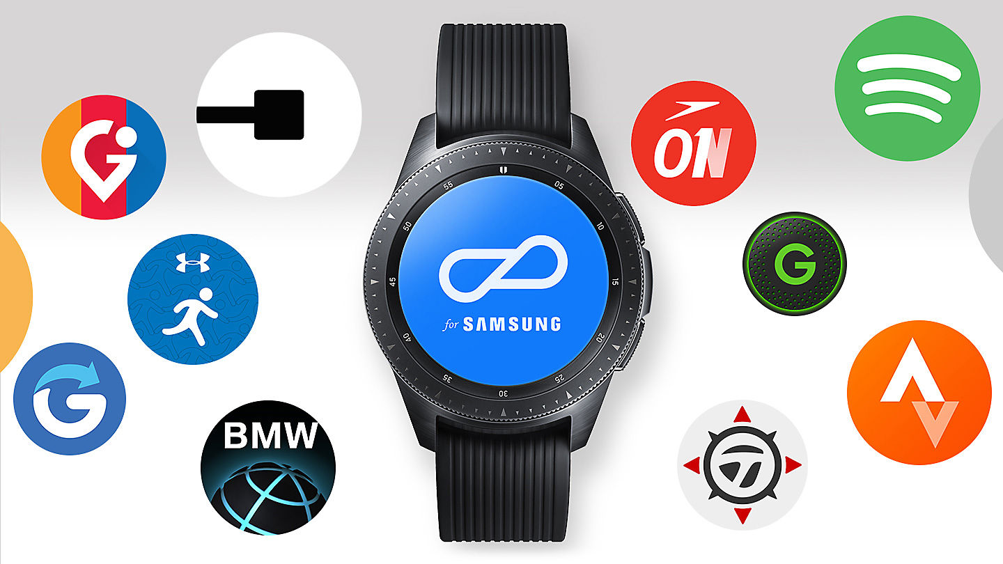 Aplicaciones del Galaxy Watch