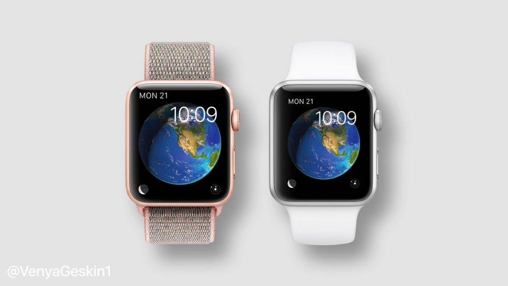 Concepto Apple Watch 4 vs Apple Watch 3 | Ben Geskin
