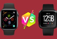 Apple Watch Series 4 vs. Fitbit Versa - Análisis comparativo