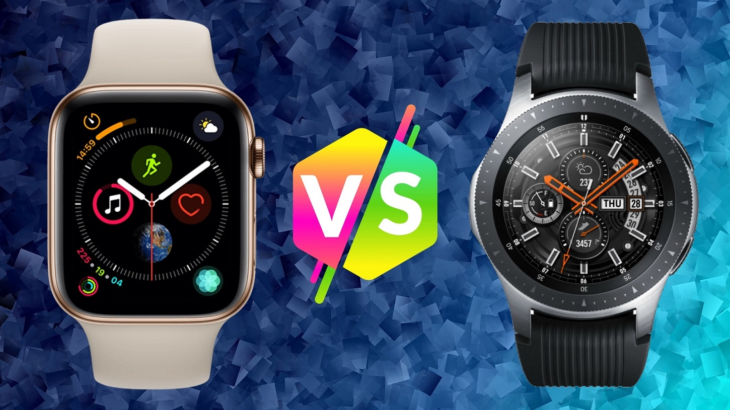Comparativa entre el Apple Watch Series 4 y el Samsung Galaxy Watch