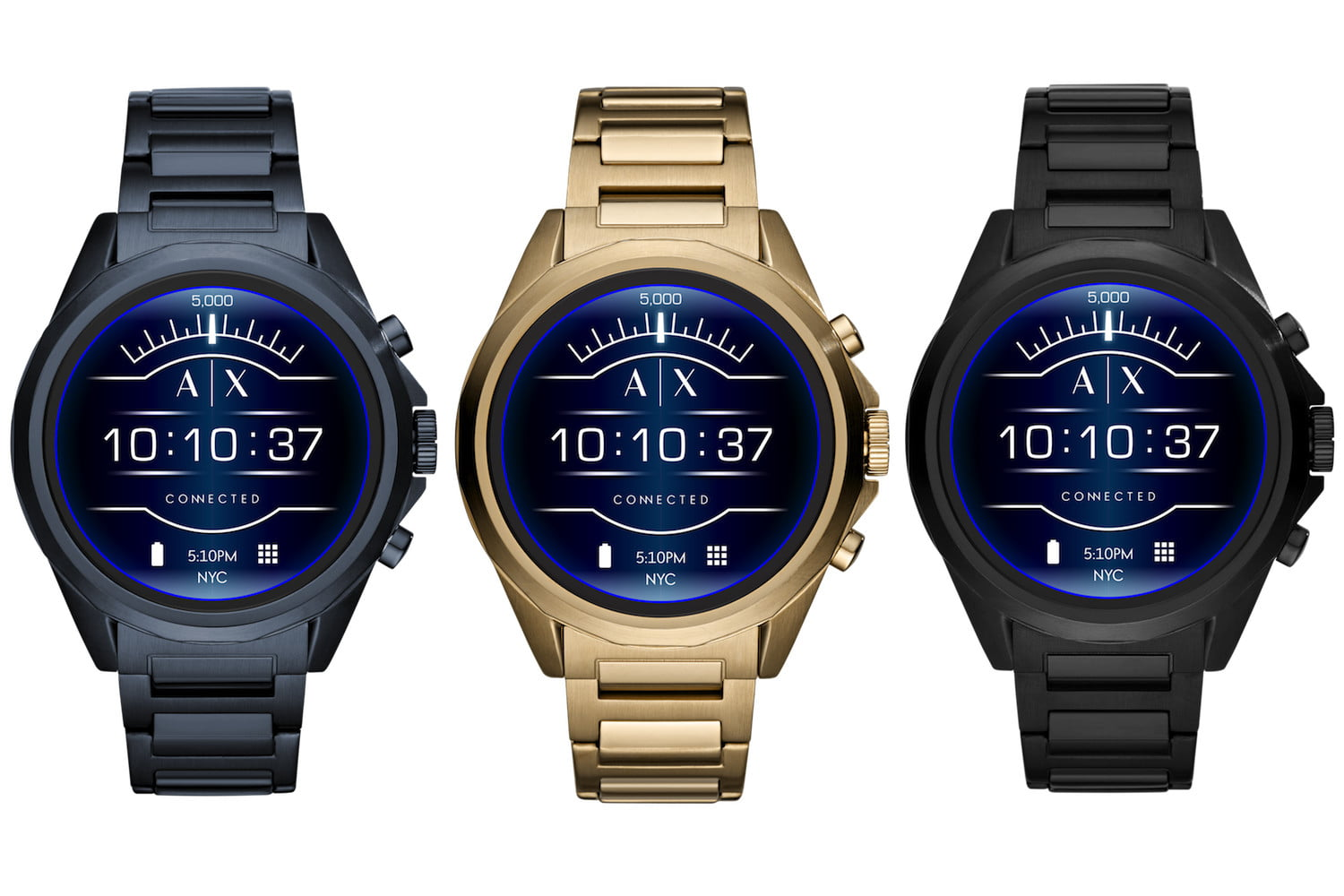 Armani Exchange Connected, nuevo smartwatch con Wear OS y pantalla táctil