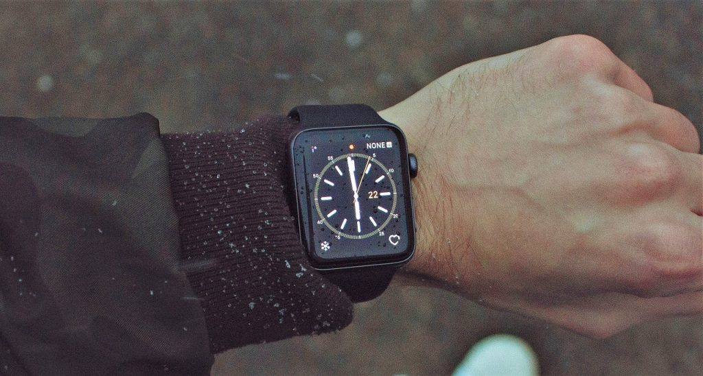 Esfera reloj en el Apple Watch