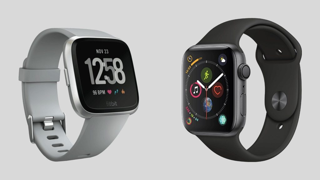 Fitbit Versa vs Apple Watch Series 4