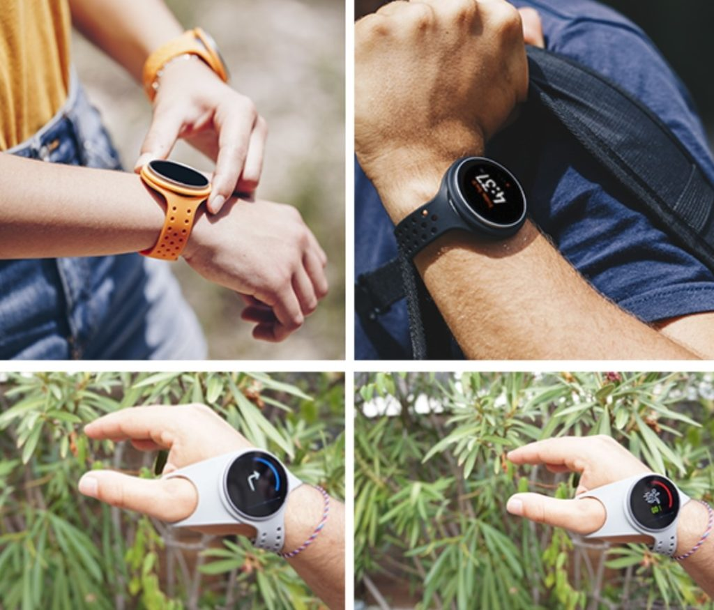 GuideWatches onTracks, smartwatches duales para navegación