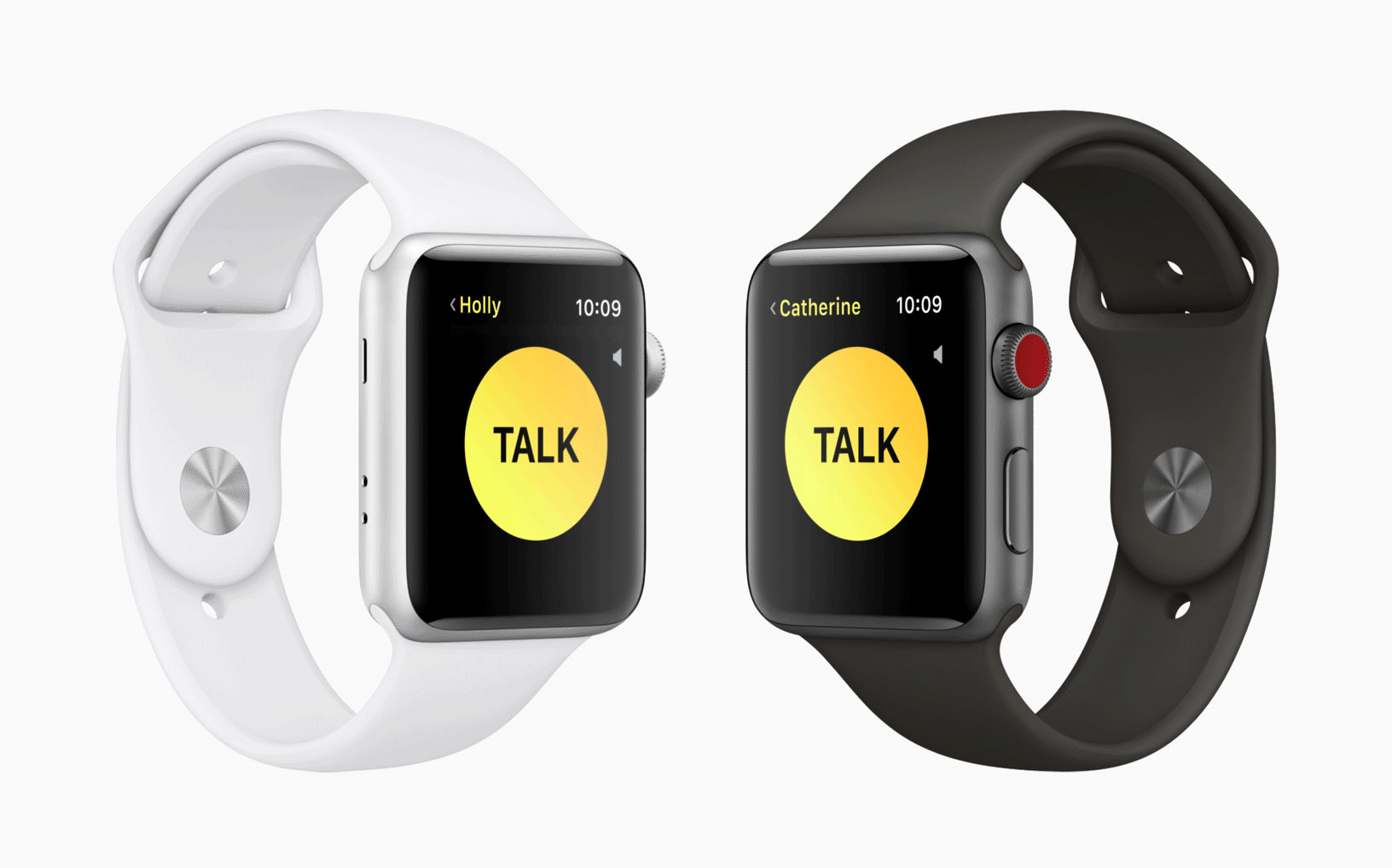 Aplicación de Walkie-Talkie en el Apple Watch