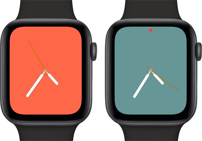 Esfera Color de watchOS 5.1 para el Apple Watch