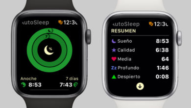 AutoSleep en el Apple Watch Series 4