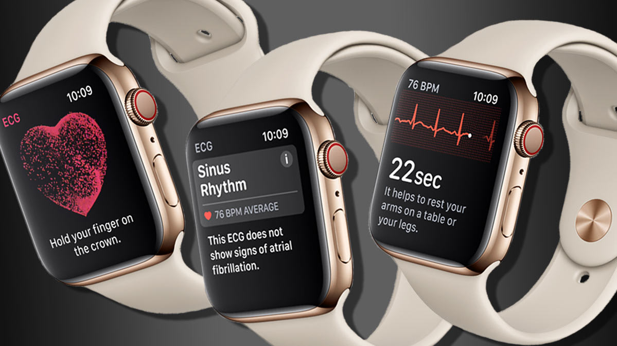 Funciones de salud del Apple Watch Series 4