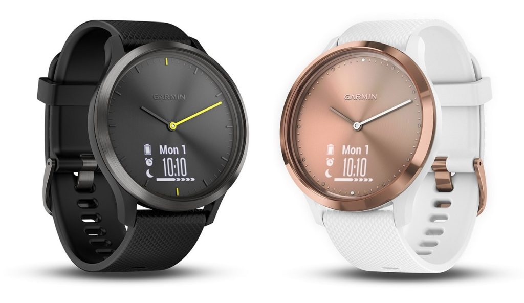 Smartwatch híbrido Garmin Vivomove HR