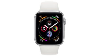 Esfera infograma en el Apple Watch Series 4