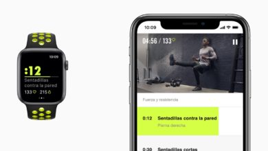 Nike Run Club en el Apple Watch Nike+ Series 4
