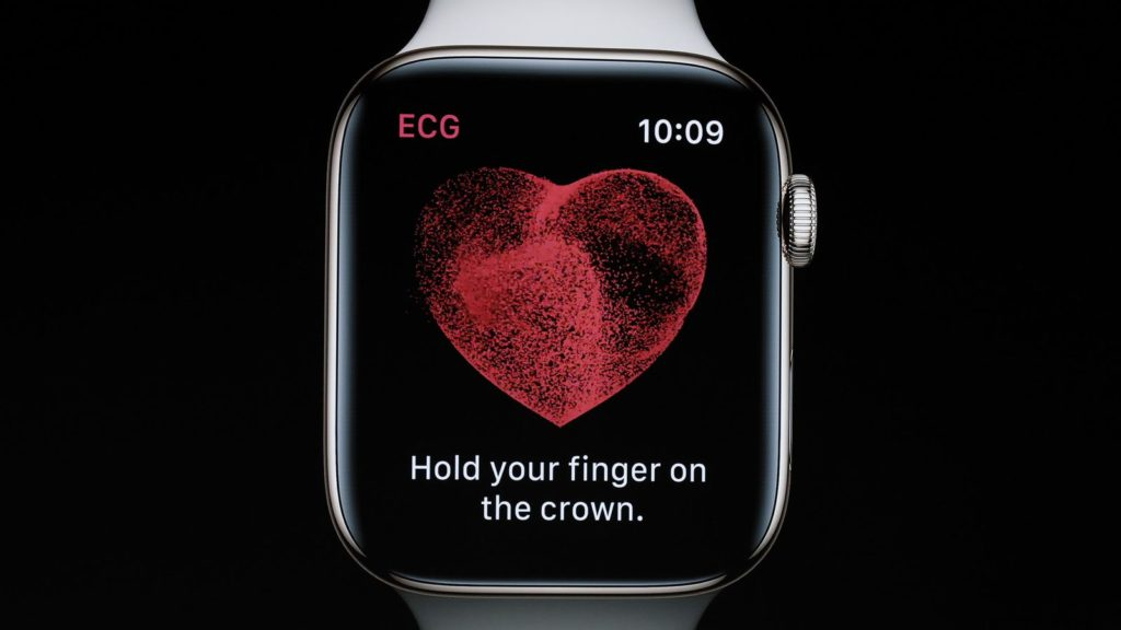 Sensor ECG del Apple Watch Series 4
